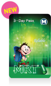 MRT 3 Day Pass : Cost 230 Baht